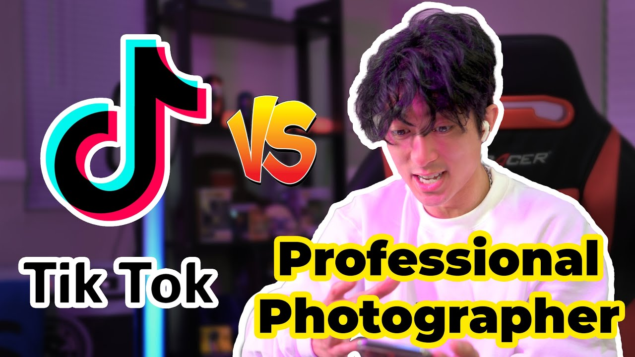 Professional Photographer Reacts to TikToks