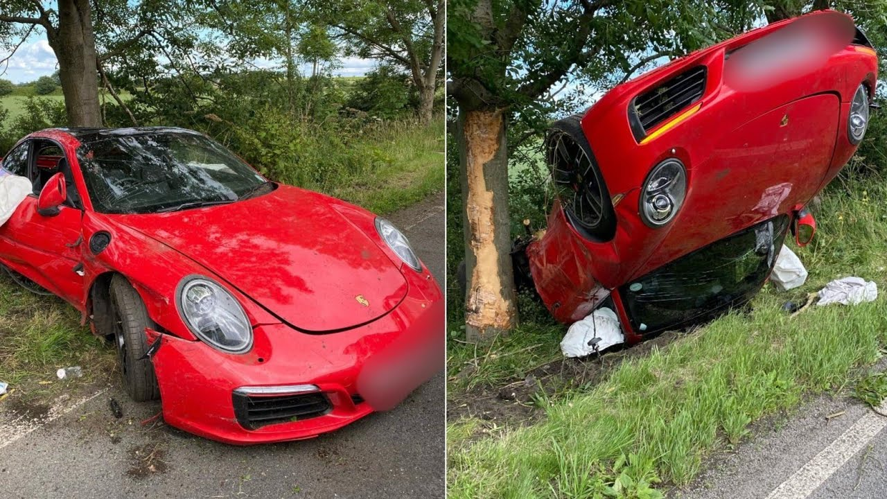 Top 10 : SuperCar Accident In India ( Part-2 ) ! ! ! #SuperSonic