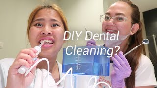 HOME SERVICE BRACES ADJUST (Do It Yourself - Dental Cleaning)