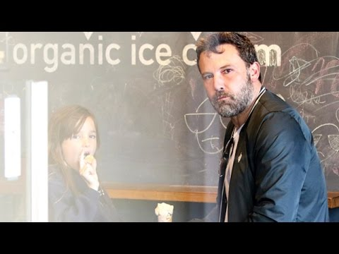 Ben Affleck Indulges His Sweet Tooth With Daughter Seraphina