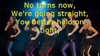 The Saturdays - Up (Wideboys Remix) with lyrics [chasing lights]