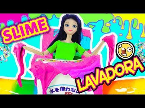 Reto de Slime en la Lavadora | Reto con Marinette y Adrien