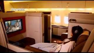 Garuda Indonesia - Miss Universe visits Indonesia