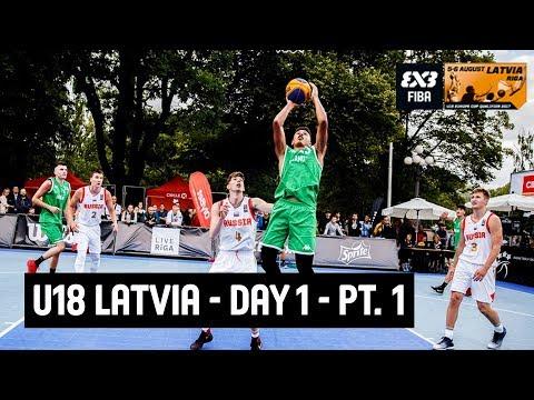 FIBA 3x3 U18 Europe Cup Qualifier 2017 - Day 1 - Part. 1 - Riga, Latvia | Re-Live