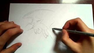 Видео: как нарисовать дракона?(обучающее видео по рисованию дракона простым карандашом поэтапно для начинающих., 2015-12-27T17:42:59.000Z)