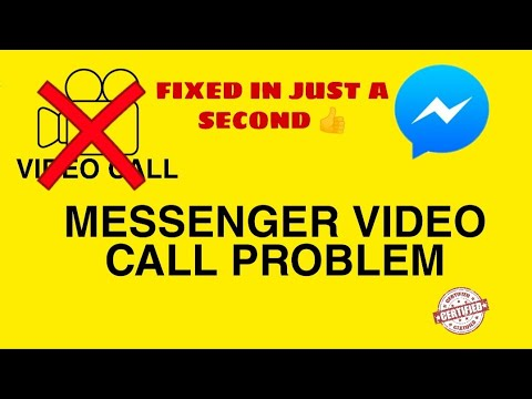 How To Fix Facebook Messenger Video Call Problem Solved