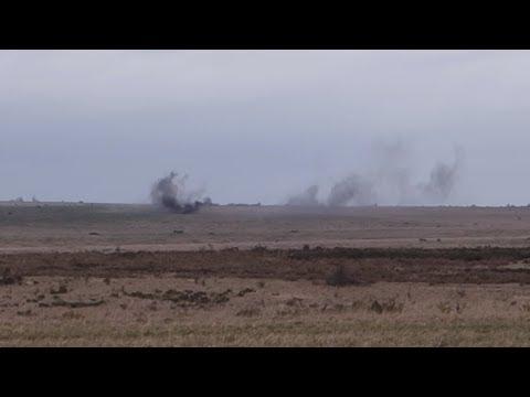 Salisbury Plain Training Area - Impact Area - 18th March 2014