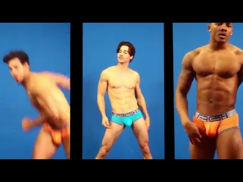 Underwear Models Audition to Erika Jayne Song