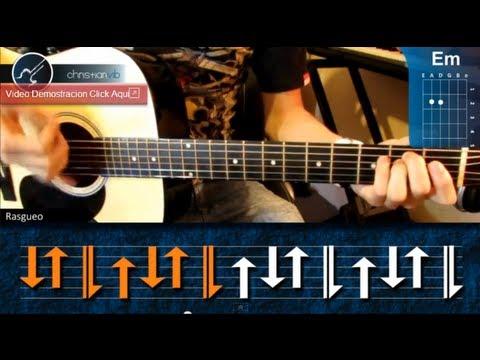 Como tocar Reggae en Guitarra Acustica (HD) Tutorial Ritmo