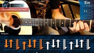 Cómo tocar Reggae en Guitarra Acústica (HD) Tutorial Ritmo - Christianvib