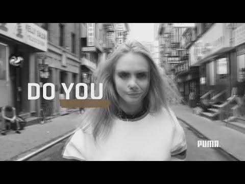 Puma Women   Будь собой с Карой Делевинь    русские субтитры