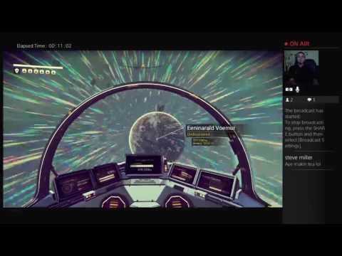 Live PS4 No Man's Sky - galaxy exploration, ship upgrades & More!!