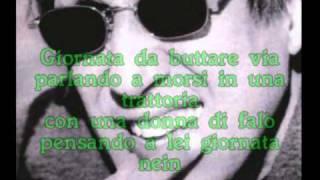 Adriano Celentano Giornata nein con testo
