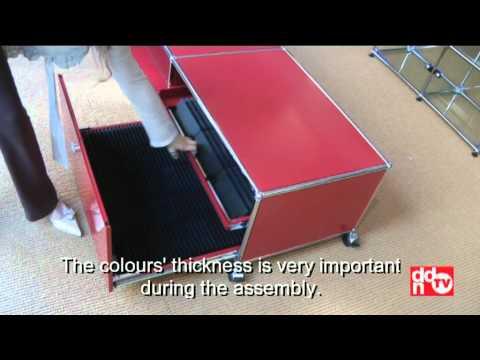 usm haller schrank montieren mit allen details doovi. Black Bedroom Furniture Sets. Home Design Ideas