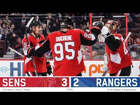 Dec 13: Sens vs. Rangers - Players Post-game Media