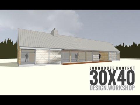Longhouse Dogtrot Design