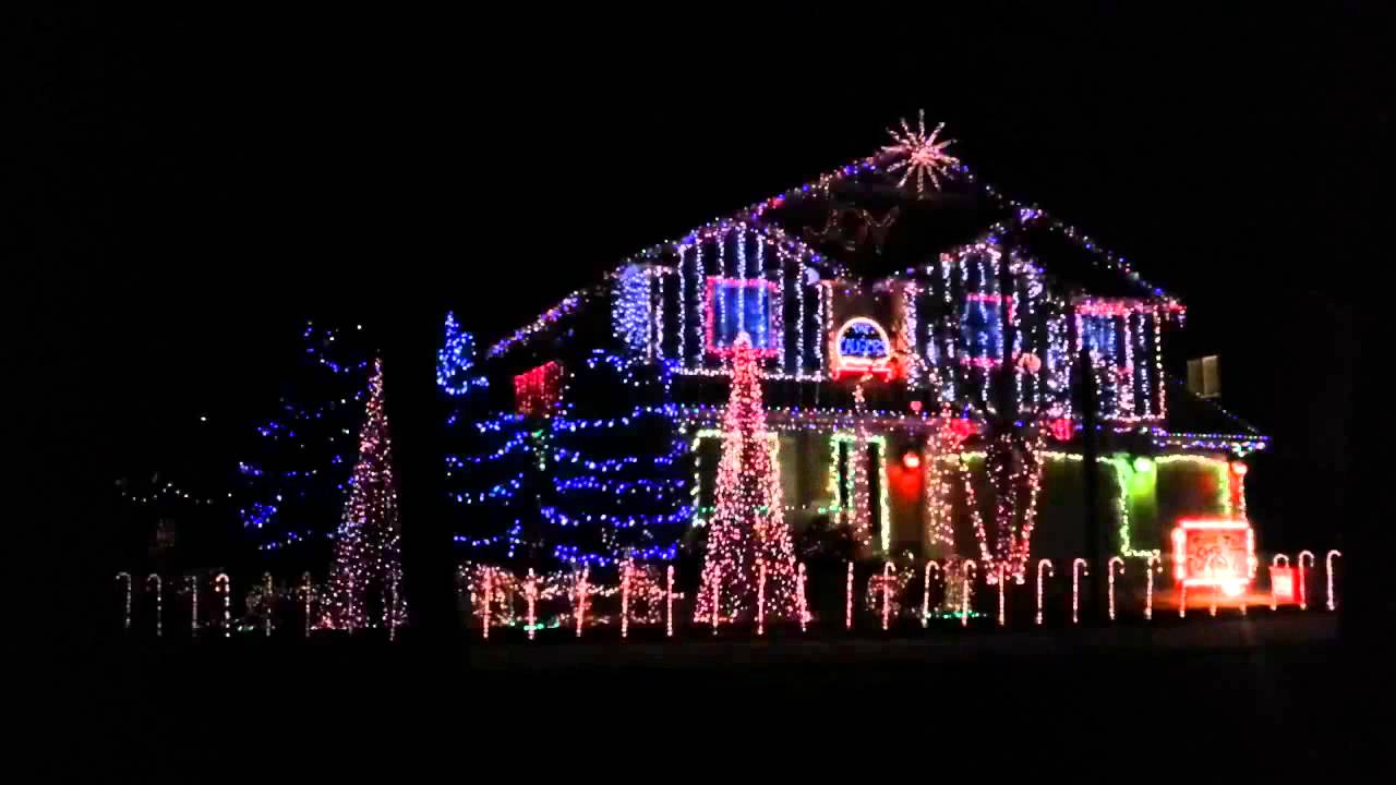 dubstep christmas lights youtube - Christmas Music Lights