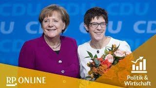 Die neue cdu-generalsekretärin annegret kramp-karrenbauer begeistert den parteitag und stellt bereits weichen für bundestagswahl 2021.