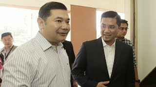 Azmin-Rafizi rivalry down a notch at Anwar's PD by-polls candidacy announcement