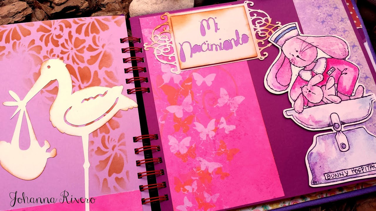 Decorar Album Scrap Como Decorar Hojas De Album Scrapbook Paso A Paso Como