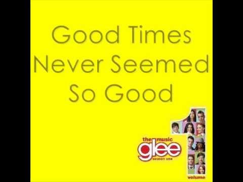 Sweet Caroline - Glee With Lyrics - YouTube