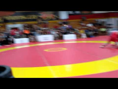 2015 Canada Cup: 65 kg Final Sahit Prizreni (AUS) vs. CJ Hudson (CAN)