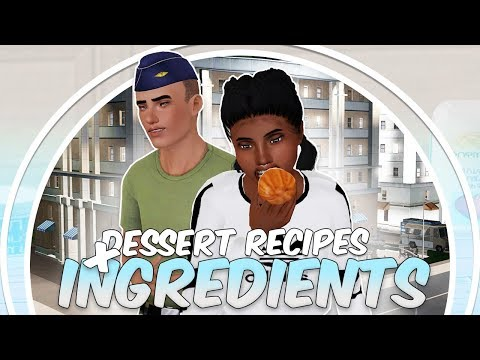Sims 3 || MOD REVIEW: New Dessert Recipes & Ingredients - Carrot Cake + BROWNIES?!