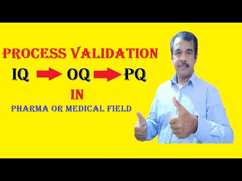 Iq Oq Pq In Pharmaceuticals For Software Or Equipment Process Validation Training | Testingshala