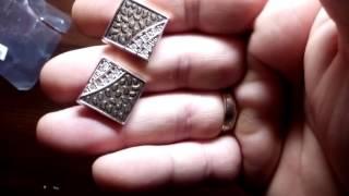 Видео обзор посылки сАлиэкспрес с крутыми запонками/Video Review parcels Aliekspress steep cufflinks