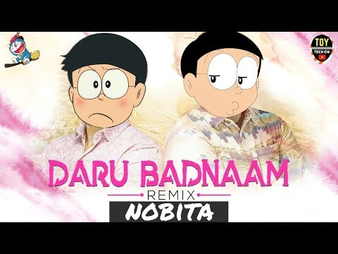 Daru Badnaam (Remix ) | Nobita  | Animated Version | Latest Punjabi Song 2018 | TOY