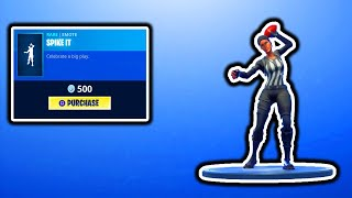 FORTNITE NEUE SPIKE IT EMOTE! FORTNITE ITEM SHOP UPDATE! KOSTENLOSE V-BUCKS GIVEAWAY