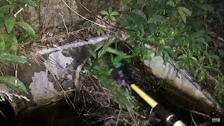 Unclogging Clogged Culvert Pipes