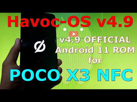Havoc-OS v4.9 OFFICIAL for Poco X3 NFC (Surya) Android 11