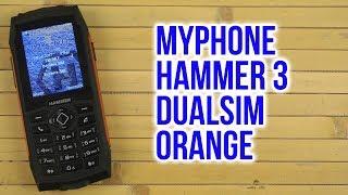 Розпакування myPhone HAMMER 3 DualSim Orange