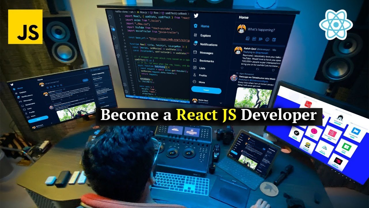 How to Become A React JavaScript Developer 🚀