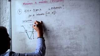 Máximos y Mínimos en funciones Trigonométricas