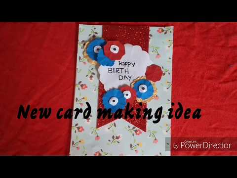NEW CARD MAKING IDEA |DIY| EASY AND CUTE|Shari's creations