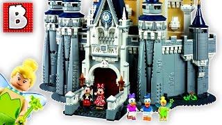 Lego Disney Castle Set 71040 | Unbox Build Time Lapse Review
