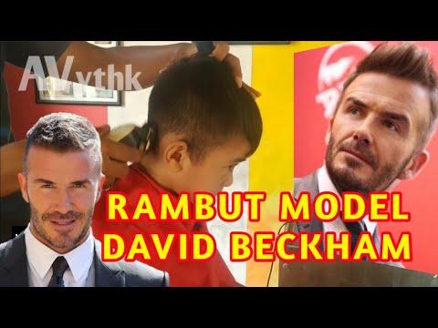 MODEL RAMBUT DAVID BECKHAM - YouTube
