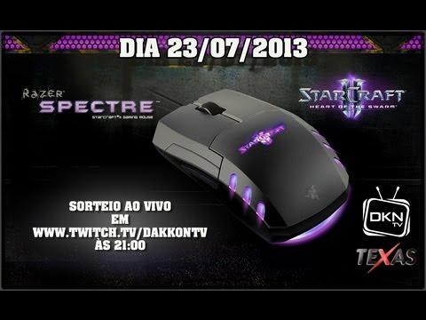 f6f6b682c48 Vencedor da Promoção do Mouser Razer Spectre StarCraft 2 - YouTube