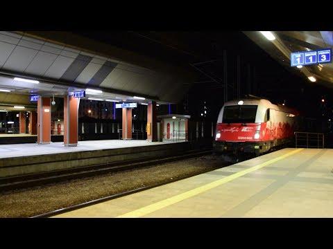 """Husarz EU44-008   Intercity 14010/407 """"Chopin""""   Kraków Główny"""