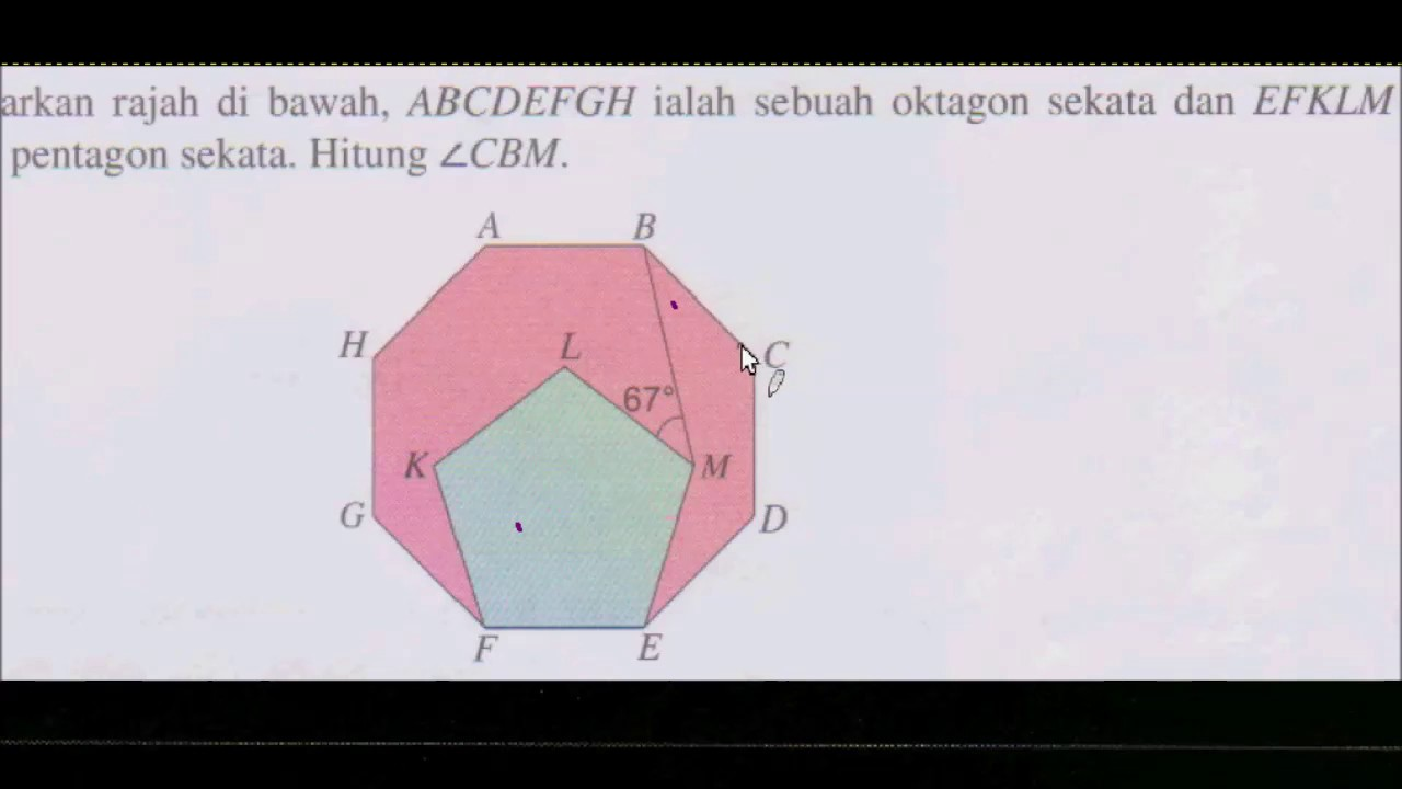 Bab 4 Poligon Matematik Tingkatan 2 Q9 Menjana Kecemerlangan Youtube