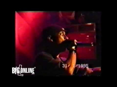 Big L - Put It On [Exclusive Third Verse] (Live at The Subterranea in London)