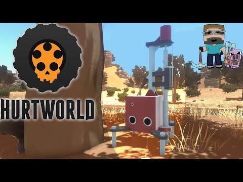 Hurtworld - Gameplay - Go deep, drilling it hard - Ep 6