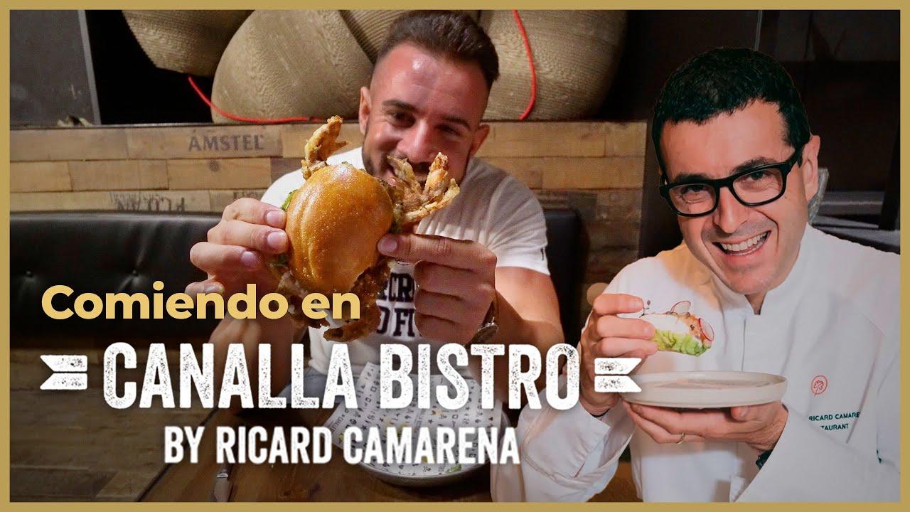 MI RESTAURANTE FAVORITO en VALENCIA - Canalla Bistro by RICARD CAMARENA 👨🍳