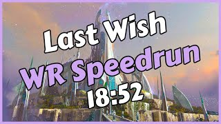 Last Wish WR Speedrun in 18:52