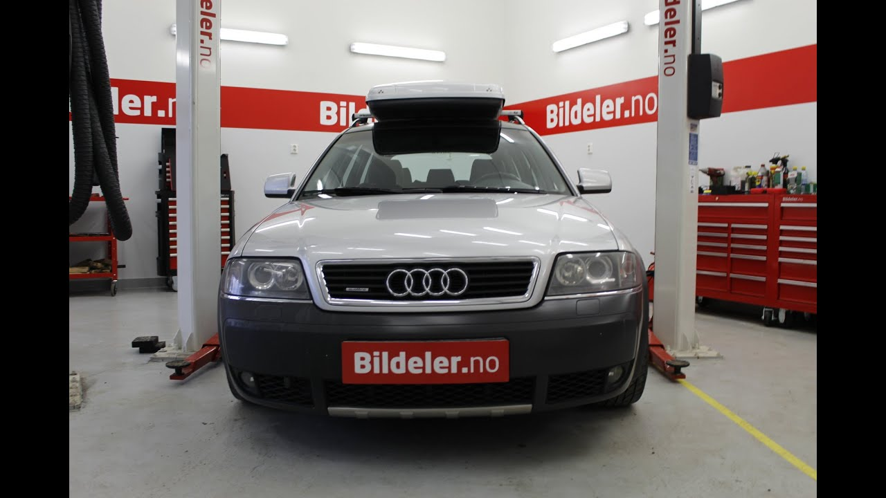 Audi A6 Allroad Hvordan Bytte Bremseklosser Foran 2 5 Tdi 1999 Til 2005 Mod C5 Youtube