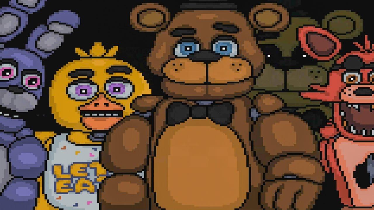 Adventure Freddy,Bonnie,Chica ,and Foxy by Fazbearmations