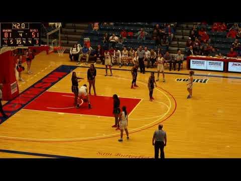 Blue Dragon Women's Basketball Vs. Allen