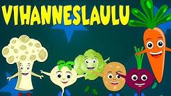 Vihanneslaulu - Lastenlauluja suomeksi